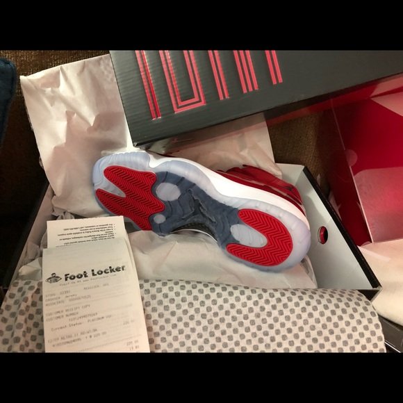 best website 0c34d 19e87 Nike Air Jordan XI retro 11 win like 96 gym red